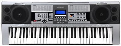 Digital 61 Tasten Keyboard E-Piano Klavier 100 Sounds & Rhythmen Lernfunktion