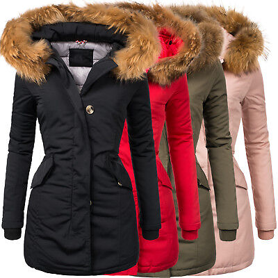 navahoo sweety 2in1 damen winter jacke parka mantel. Black Bedroom Furniture Sets. Home Design Ideas