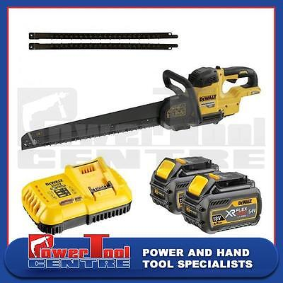 Dewalt DCS397 430mm Light Weight Alligator Saw 54V XR Flex Volt Kit + Free Blade