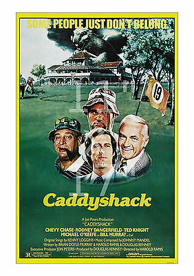Caddyshack - 11x17 inch Poster/Print Lobby Card from the 1989 Comedy Classic