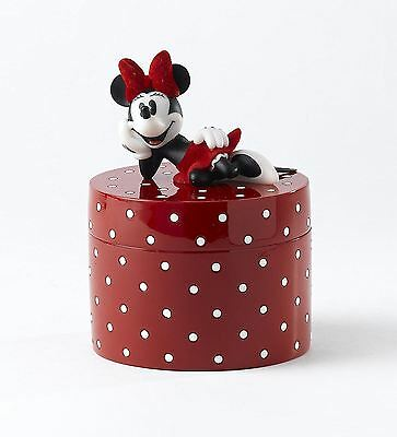 Disney Minnie Mouse 'I Will Keep Your Secrets' Lidded Box Girly Gift A24, A24260