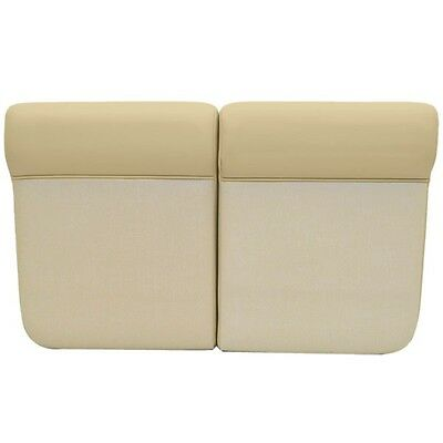 Scout Boats Beige Vinyl Marine Boat Port / STBD Side Seat Cushions (Set of 2)