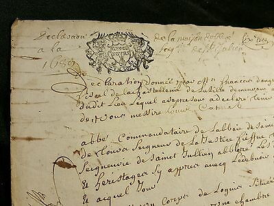 Very Old Manuscript 1689