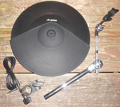 """Alesis DMPad 16"""" 3-Zone Cymbal w/Choke; includes Mount, Clamp, Cable & Plug"""