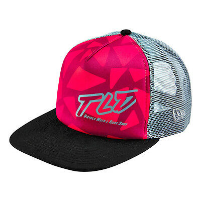 Troy Lee Designs Edge Womens Hat - New Era 9FORTY Trucker Cap - Pink/Black - O/S