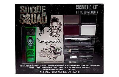 Men's DC Comics Movie Suicide Squad Jared Leto The Joker Makeup Cosmetic Kit