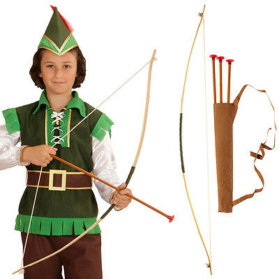 arrow and bow for children Robin Hood Set Cooker Indian Archer Accessory