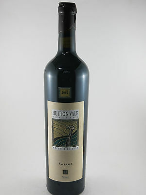 2002 Hutton Vale Vineyard Eden Valley Shiraz, Stunning Wine 10/10 Vintage