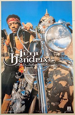 Jimi Hendrix South Saturn Delta Licensed Poster