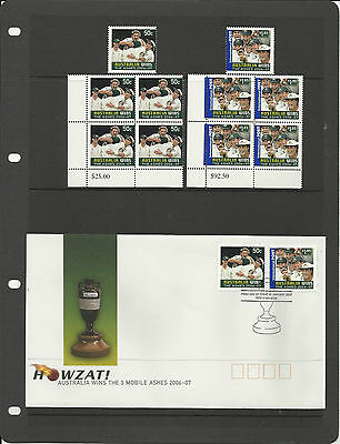 HAGNER FDC BLACK STAMP ALBUM SHEETS Double Sided Pack 10 - 3 different Pockets