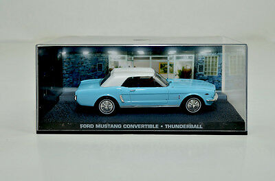 James Bond Modellauto-Collection Ford Mustang Convertible