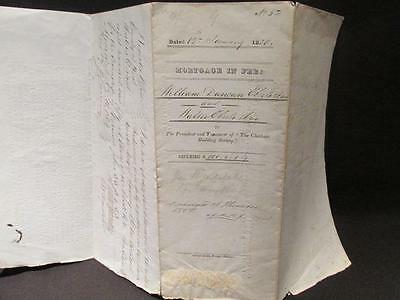 Town of Chatham Ontario County Kent Large 1850 Mortgage Indenture