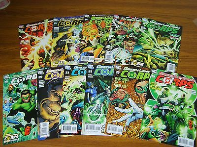Green Lantern Corps #14 - 23 Run + #25 (Dc) 2007 (11 Issues)