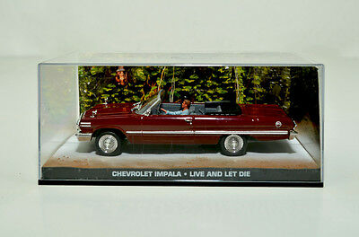 James Bond Modellauto-Collection Chevrolet Impala