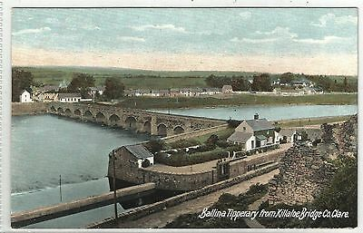 irish postcard ireland clare ballina tipperary from killaloe