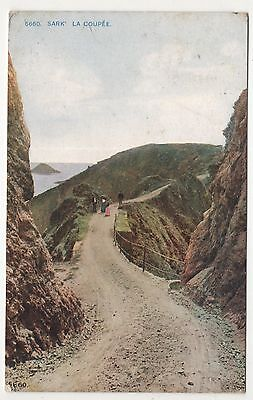 channel islands postcard sark