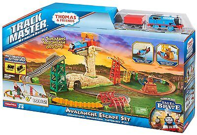 NEW Thomas and Friends Trackmaster Motorized Railway Deluxe Avalanche Escape Set