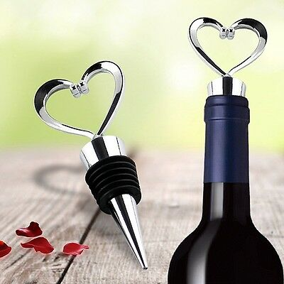 Silver New Bar Accessories Red Wine Stoppers Metal Bottle Stopper