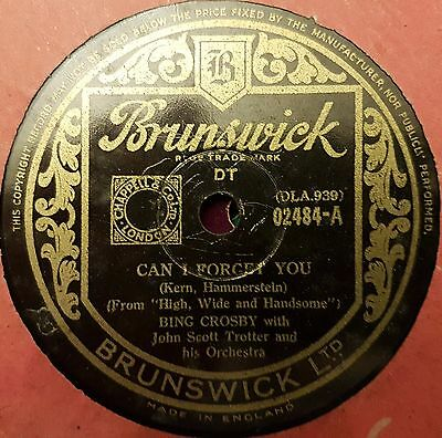 Bing Crosby Can I Forget You 78 Rpm Gramophone Record (34)