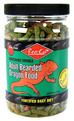 Rep-Cal - Adult Bearded Dragon Food With fruit ForTified Daily Diet - 8 oz.