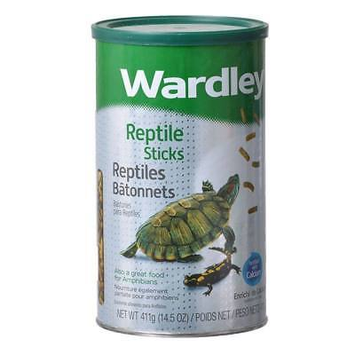 Wardley Products Reptiles Stick & Bottanel Food For Amphibians - 14.5 Oz./411 g