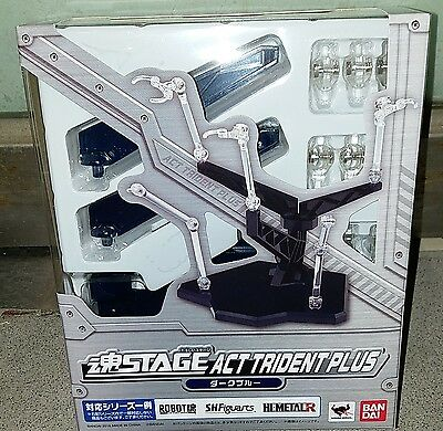 Bandai Tamashii Soul Stage Act Trident Plus (Black) Base Stand for Action Figure