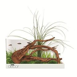 Fluval Decor Mopani Wood, Grass & Moss Stones Aquarium Ornaments