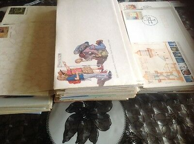 Bulk Stamp Collection 176 Australian First Day Covers Prepaid & Envelopes Lot