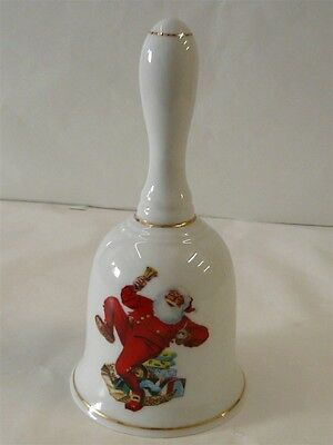 Norman Rockwell Bell Ringing In Good Cheer 1986 Museum Inc.