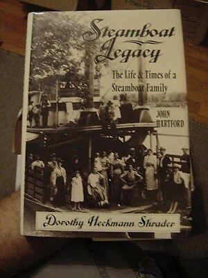 STEAMBOAT LEGACY, 1800s DIARY MISSOURI & MISSISSIPPI RIVERS SHRADER (Signed)