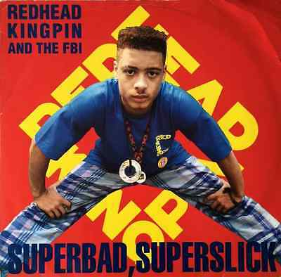 """REDHEAD KINGPIN AND THE FBI - Superbad, Superslick (12"""") (G-/G)"""
