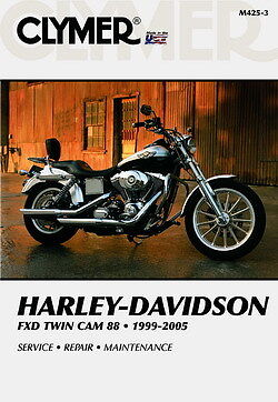 Harley Davidson FXD FXDI Dyna Super Scivolo 1999-05 Clymer Manuale M425-3