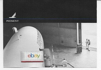Piedmont Airlines Boeing 727-100 Pacemaker In Hangar Galley Door B/w Print
