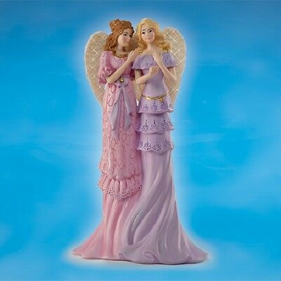 Angels of Sisterly Bond Thomas Kinkade Sisters Figurine Bradford Exchange