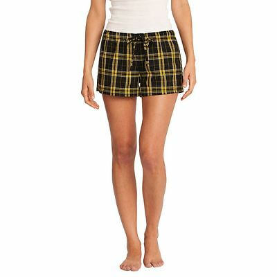 District-Juniors Flannel Plaid Boxer-DT2801