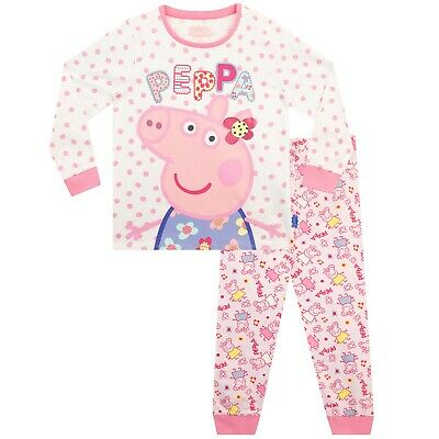 Peppa Pig Pyjamas | Girls Peppa Pig Pjs | Peppa Pyjamas