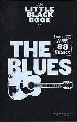 The Little Black Book of The Blues Guitar Chord Songbook Music Book