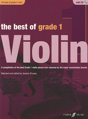 The Best of Grade 1 Violin Sheet Music Book with CD & Piano Accompaniment