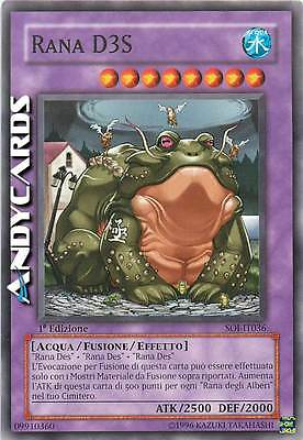 Rana D3S ☻ Comune ☻ SOI IT036 ☻ YUGIOH ANDYCARDS
