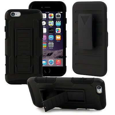 Shock Proof Case Heavy Duty Cover Rugged Defender Tough Hard Armor Wth Belt Clip