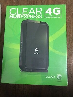 New Clear Hub Express Gtk-Rsu131 4G Wifi Modem Wireless Router No Contract