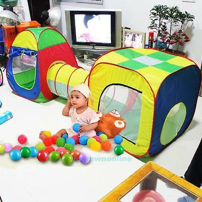 Foldable Outdoor / Indoor Kids Game Play Childrens Toy Tent Ocean Ball Pool Room