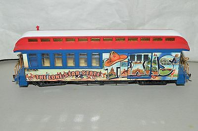 On30 scale Hawthorn Village Bachmann Texas State Lone Star passenger car