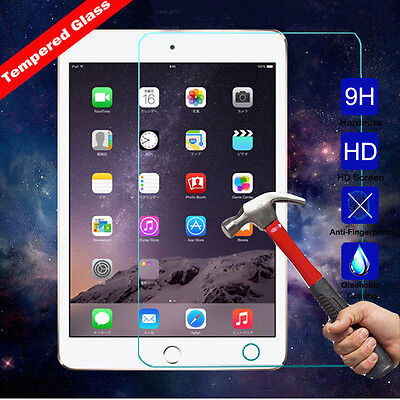 For iPad 4 3 2 Mini4 Air 1/2 9H Clear Premium HD Tempered Glass Screen Protector