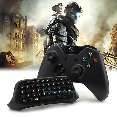 Mini USB Wireless Chatpad Message Keyboard for Xbox One Controller 2.4G