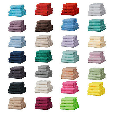 Linens Limited Supreme 100% Egyptian Cotton 500gsm 6 Piece Hotel Towel Set
