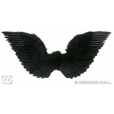 Feathered Wings for Halloween Angel of Death Fancy Dress