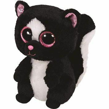 Ty Beanie Boos - Flora the Skunk Soft Plush Cuddly Toy New Animal