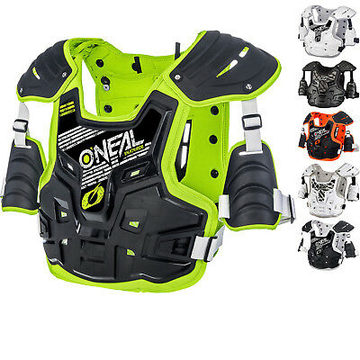 Oneal PXR Stone Shield Motocross Body Armour MX Enduro Roost Deflector Protector
