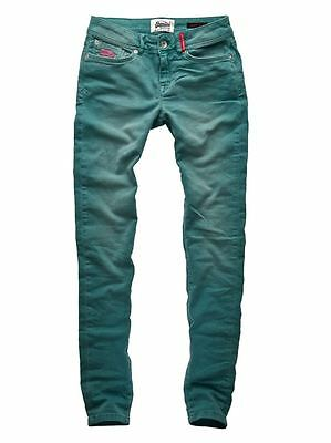 Superdry Mujer Standard Blue Skinny Washed Mint